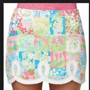 Lilly Pulitzer State of Mind Skirt